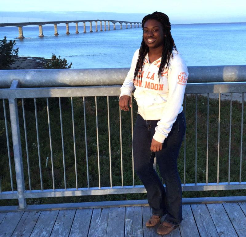 Aiyanna Johnson in Prince Edward Island, Canada
