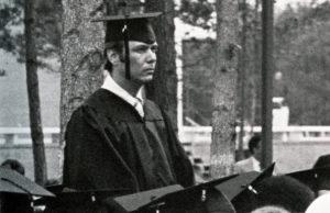 Anthony Watkins graduating