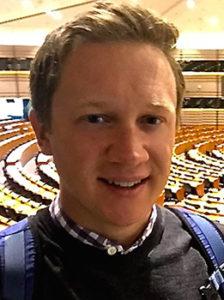 Will Daniel at the European Parliament