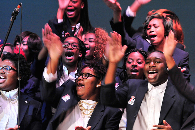 Young, Gifted and Blessed Choir in action