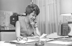Delores Miller in office
